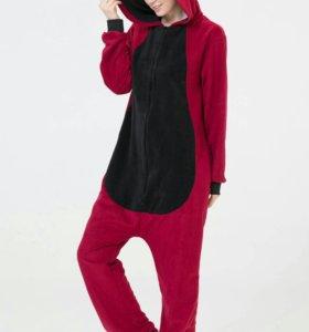 Пижама кугуруми дракон красный