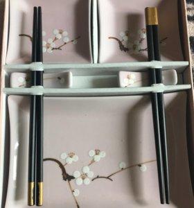 Набор посуды для суши и ролл