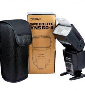 вспышка YongNuo Speedlite YN-560 II для Сanon