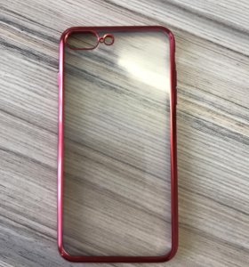 Силиконовый чехол Iphone 7, 8 Plus