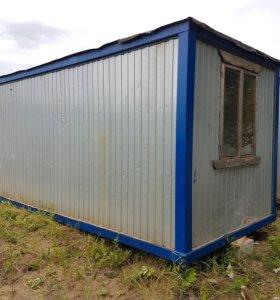 Бу Блок-контейнеры или бытовки, вагончики