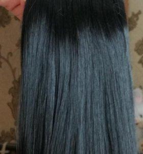 Волосы.