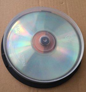 CD-RW диски пустые