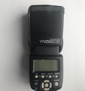 Фотовспышка yongnuo YN560 III speedlite
