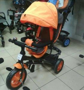 Детский трёхколесный велосипед «Лучик VIVAT»