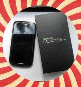 SAMSUNG Galaxy S3 Duos в идеальном состоянии+подар