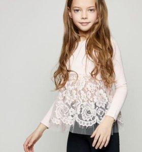 Блузка ZARINA для девочки( 8-9 лет )