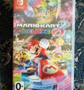 Mario kart 8 deluxe (Nintendo switch)
