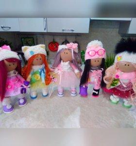 Текстильные куклы(1700р)
