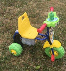 Детский электрический велосипед б/у