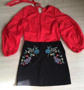 Юбка и блузка reserved