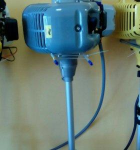 Новая электрокоса интерскол