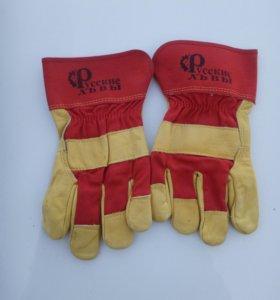 """перчатки кожаные """"Русские львы"""""""