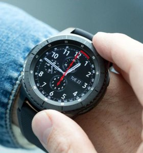 Продам умные часы Samsung Gear S3 Frontier
