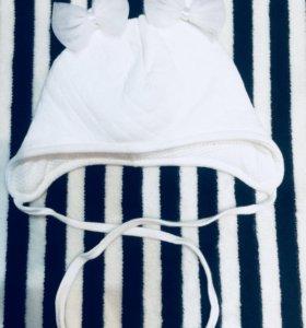 Шапочка с рождения для малыша