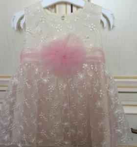 Платье для девочки 80