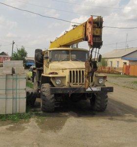 Автокран Ивановец КС 3574