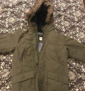 Зимняя куртка парка детская