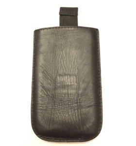 Чехол кожаный 11х7 см