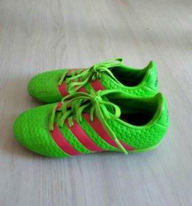 Детские бутсы Adidas ACE 16.2.