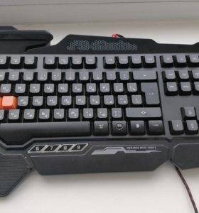 Игровая клавиатура bloody b314 с RGB подсветкой