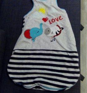 Спальный мешок Fisher Price 6-12 месяцев