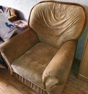 Комплект 2 кресла и диван