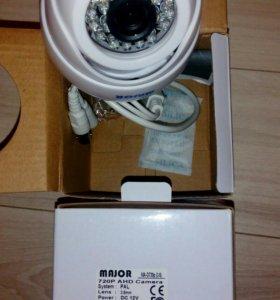 Купольная AHD камера Major