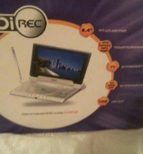портативный DVD плеер D2858