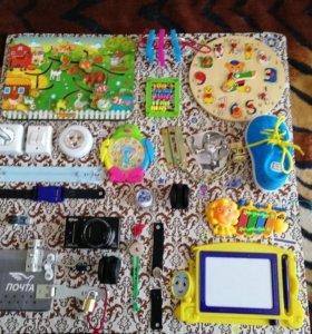 Бизиборд развивающая игрушка для детей