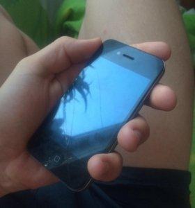Продам IPhone 4s черный