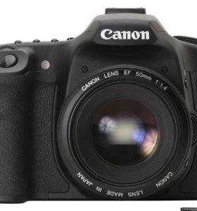 Зеркальный фотоаппарат canon 50d