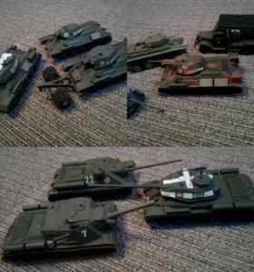 Модели танков ВОВ