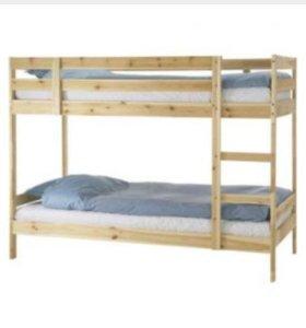 Кровать двухъярусная IKEA