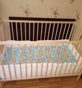 Детская кровать ИКЕА снигларIkea Sniglar