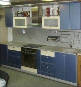 Акриловый кухонный гарнитур