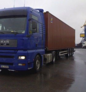 Водитель контейнеровоз