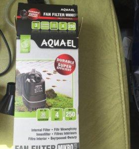 Фильтр для аквариума Aquael fan filter micro plus