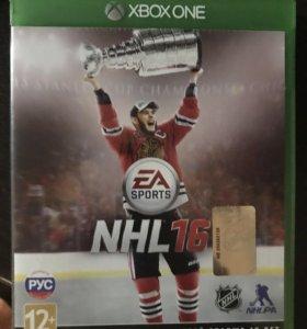 NHL 16 на Xbox one