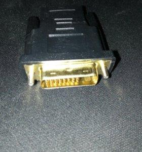 перезодник с DVI-D на hdmi