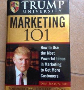 Трамп. 101аспект маркетинга. На английском, новая
