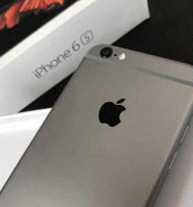 iPhone 6S space gray 16Gb идеальное состояние