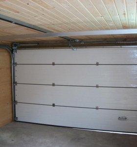 Секционные гаражные ворота 2900*2000