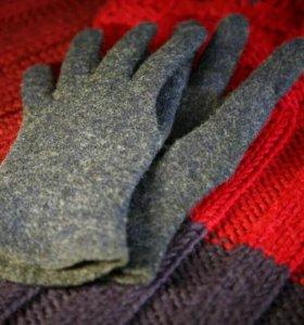 Мастер-класс по валянию перчаток из шерсти