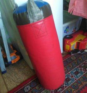 Груша детская боксерская и перчатки