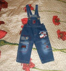 джинсы от 6 мес до 4 лет