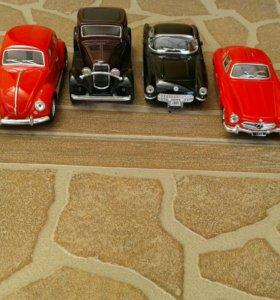 Машинки коллекционные!!!