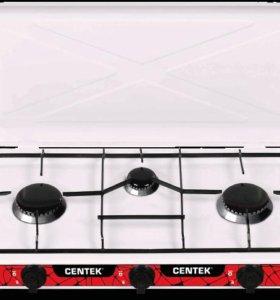 Плитка газовая Centek CT-1522 3 конфорки+форсунки