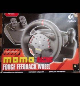 Игровой руль Logitech momo Racing Force Feedback W