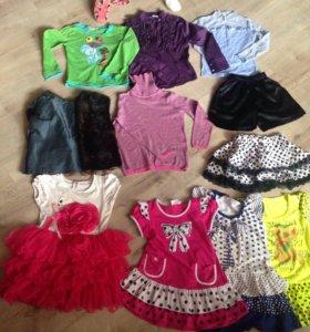 3-и пакета Вещей на девочку от 4 до 6 лет